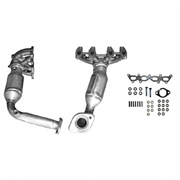 FIAT PUNTO EXHAUST MANIFOLD CAT CATALYTIC CONVERTER FREE FITTING KIT  ECFT1010TA